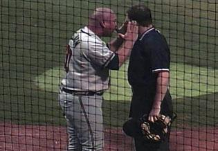 Manager gone wild: Double-A skipper suspended for meltdown
