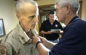 Colonel now battles cancer