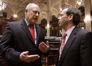 With populist image, what will Quinn's term be like?