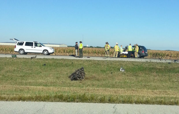 1 killed in i 55 crash near pontiac local news pantagraph interstate 55 accident 1 publicscrutiny Images