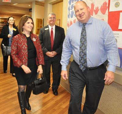 Lt. Governor Sanguinetti visits GAHHS