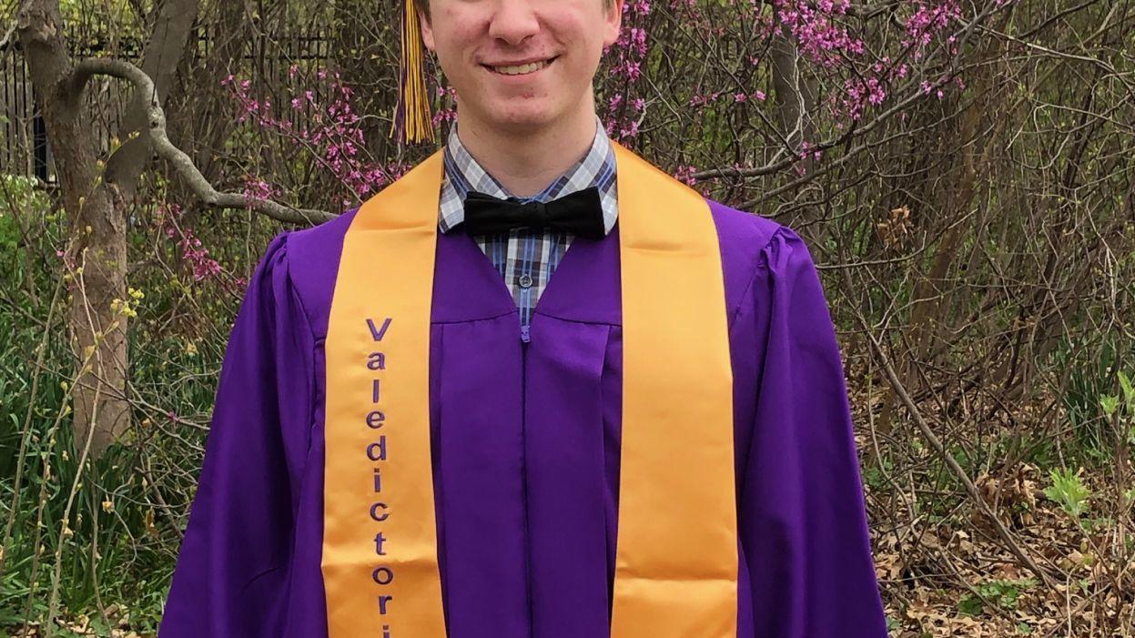 Bloomington High School graduation 🎓