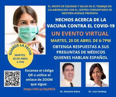 MCHD Spanish Vaccine facts