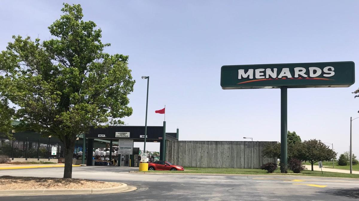 Normal Menards adding to lumberyard, moving entrance | Local