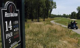 Best of Twin Cities, Decatur face on the links