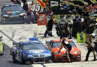 Busch placed on probation by NASCAR