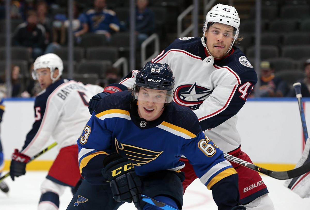 Blues take final exhibition game 7-3 over Blue Jackets