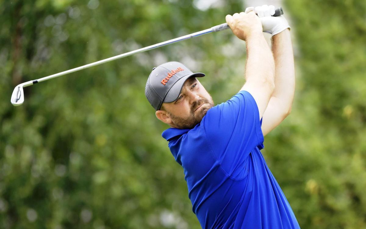 Brandon Holtz, Illinois Open golf