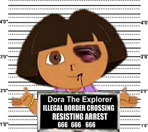 Dora the Explorer illegal immigration