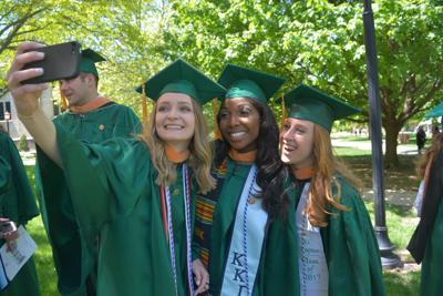 Wesleyan graduation I