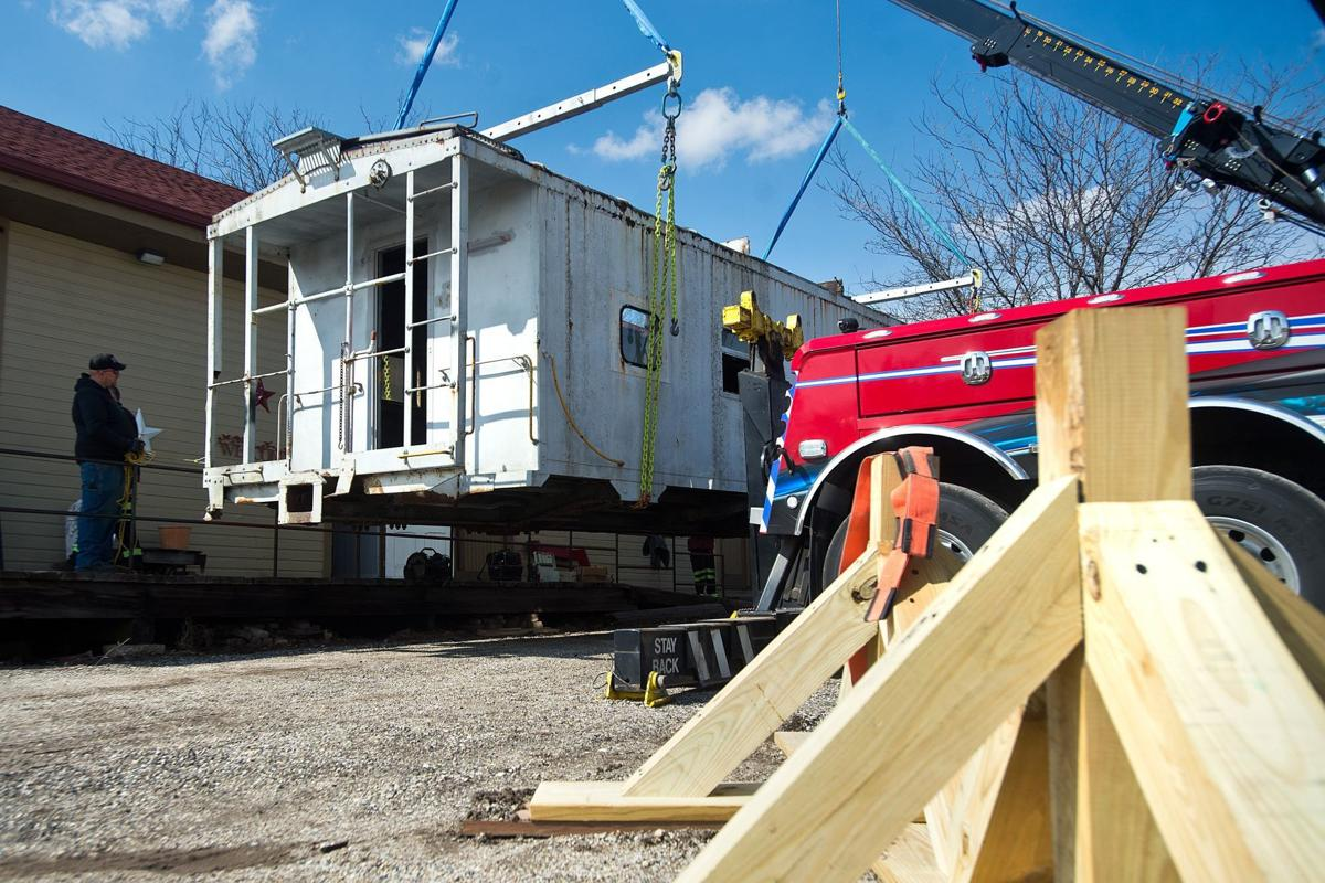 Caboose added to Sheen museum in El Paso   Faith and Values