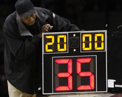 Shorter Shot Clock Basketball