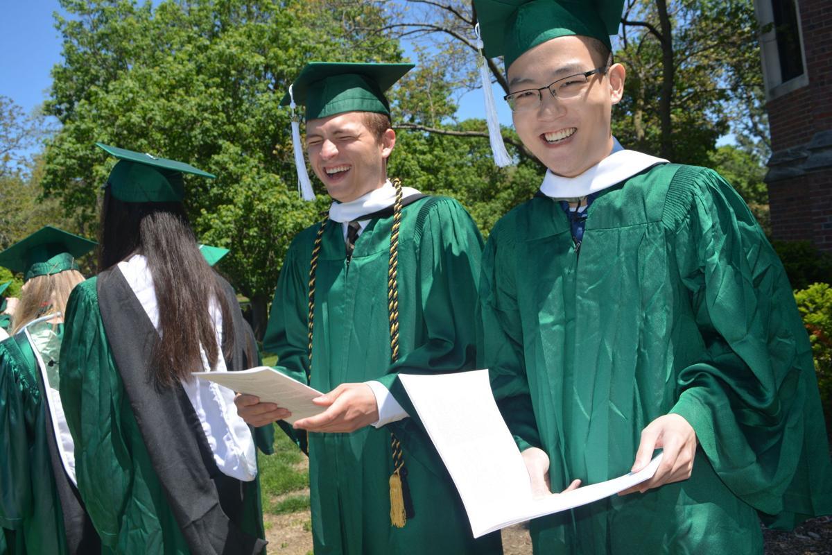 Wesleyan graduation II