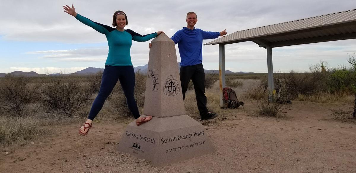 Couple complete 3,100-mile Continental Divide Trail, overcoming snow, storms and chronic fatigue syndrome