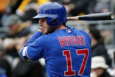 on sale c2320 52c2d MLB: Cubs' Bryant jersey is top seller | Chicago Cubs ...