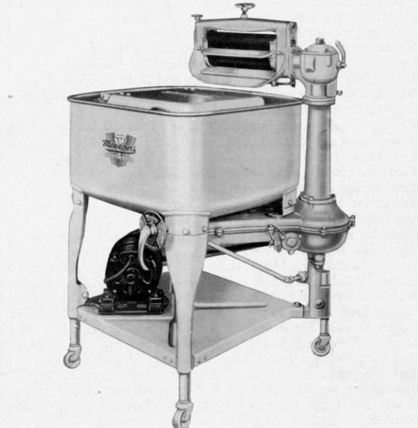 1920 Washing Machine ~ Meadows plant churned out washing machines local news