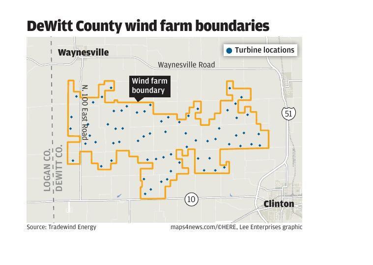 DeWitt County wind farm