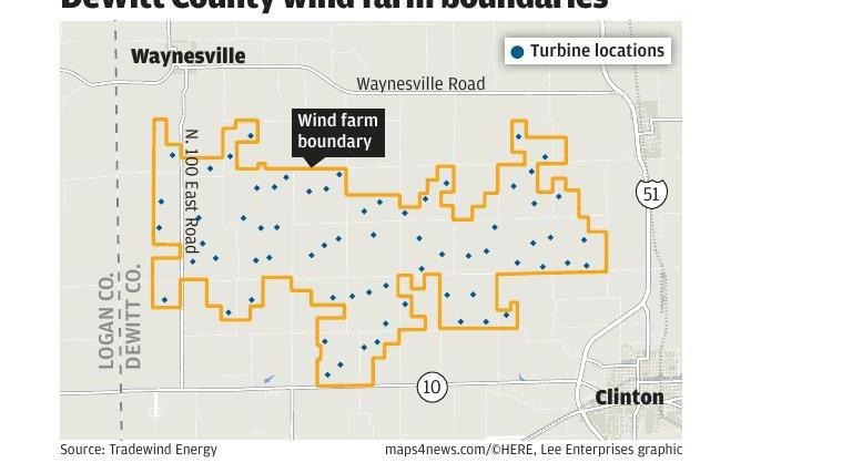 DeWitt wind farm called 'wrong project at the wrong place'