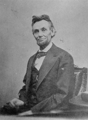 Abraham Lincoln April 9, 1865