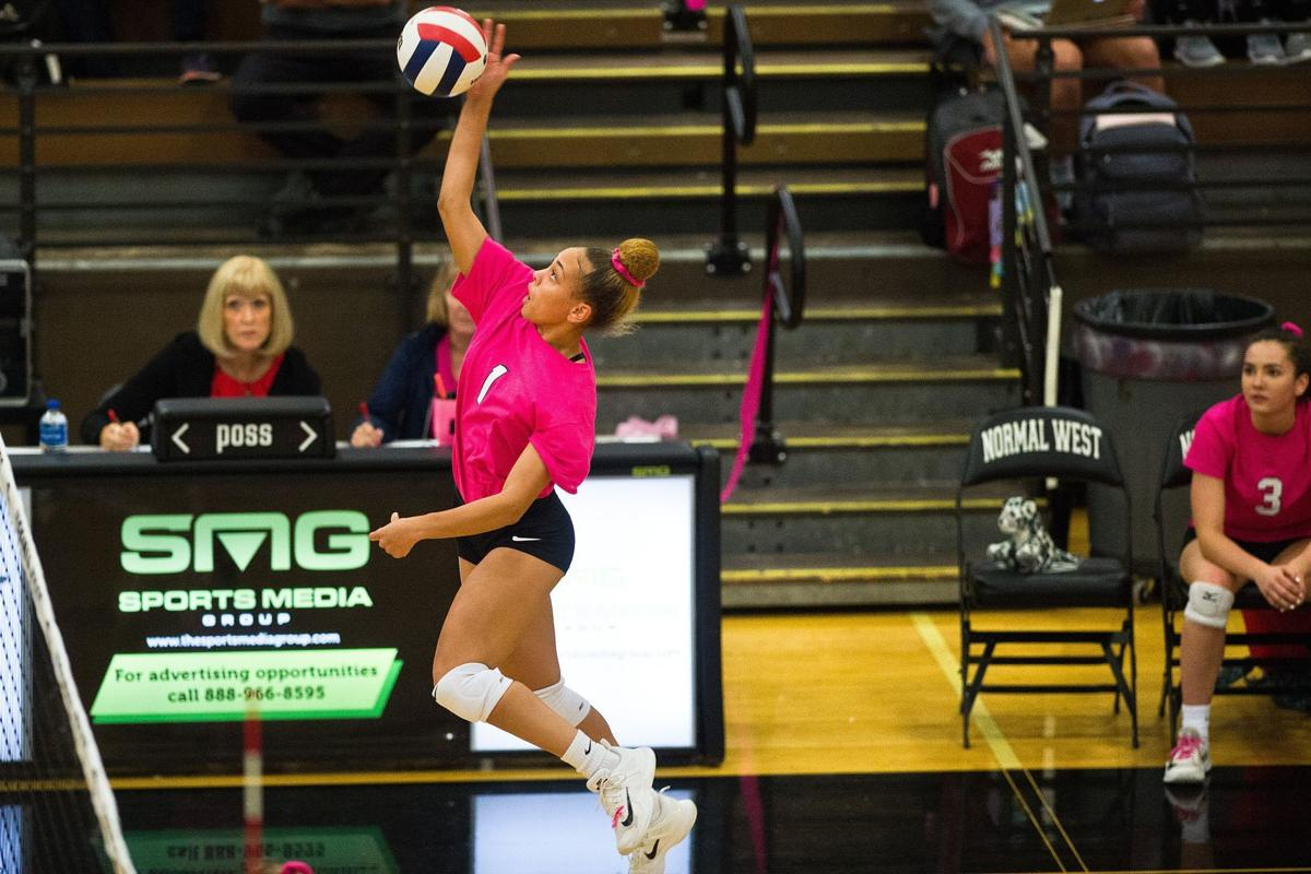 Normal West volleyball downs NCHS | High School Volleyball