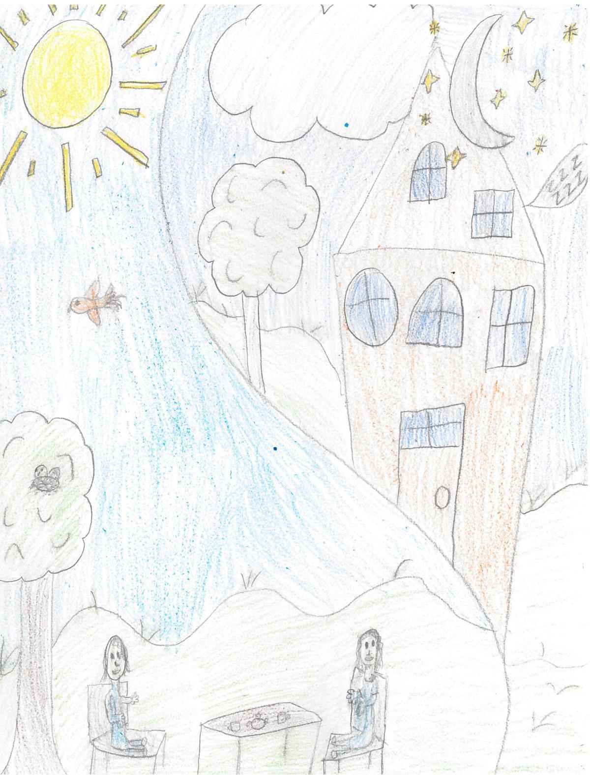Eva Zacharias, grade 3, Epiphany