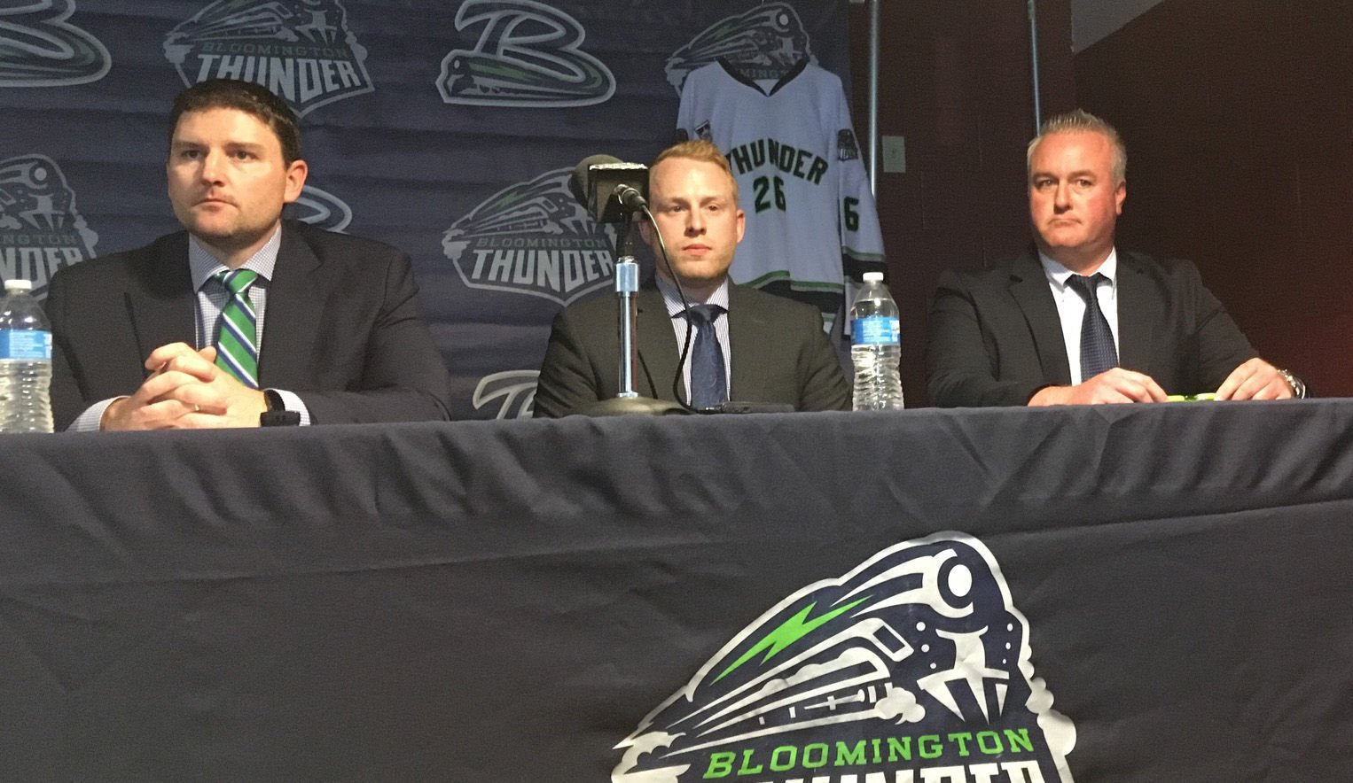 USHL: Watt, Jewell Embrace New Roles As Thunder Leaders