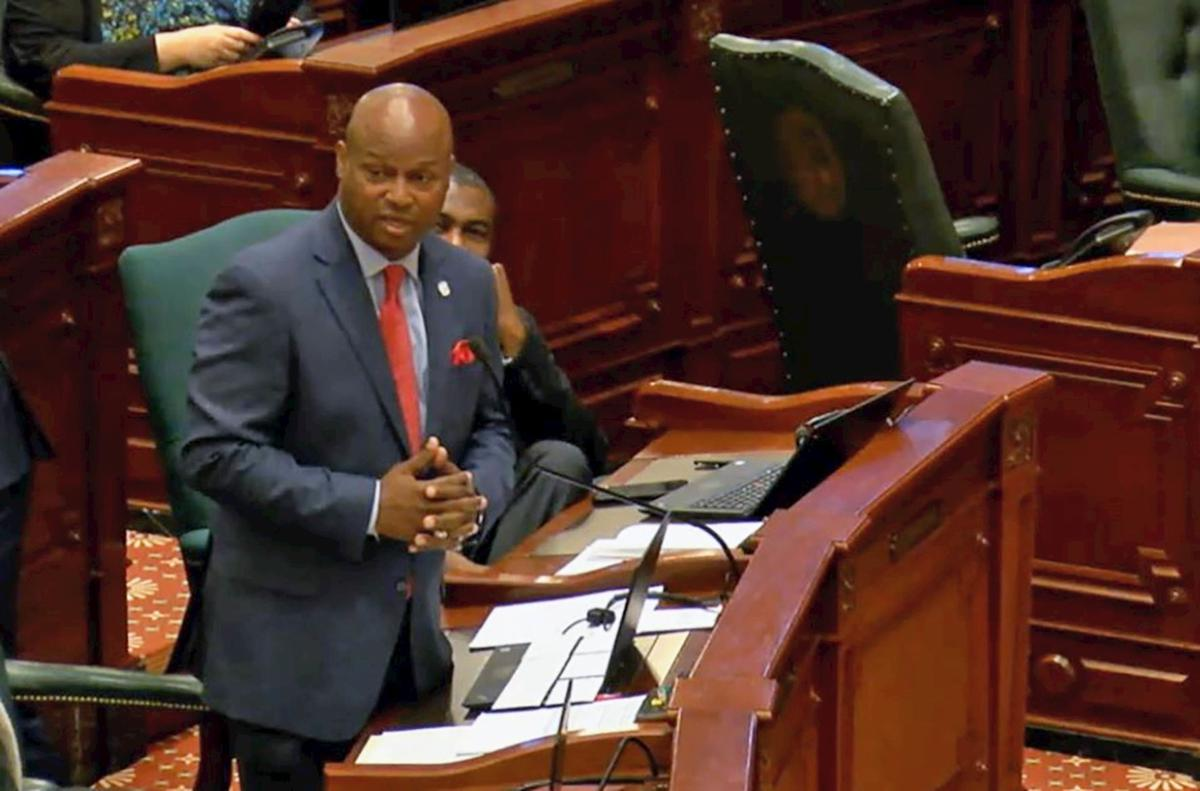"File photo -  Rep. Emanuel ""Chris"" Welch"