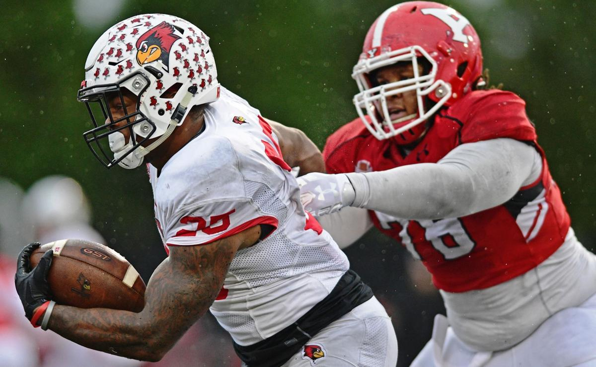 James Robinson running vs. Youngstown State