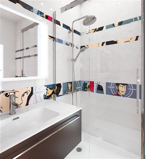 Right At Home Artistry And Artifice In New Tiles Style Trends
