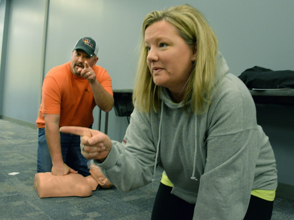 Cpr class breathes life into community local news pantagraph cpr class breathes life into community 1betcityfo Gallery