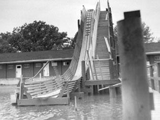 Miller Park Lake Weathered Racism