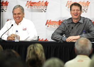 Earnhardt Jr. joins Hendrick