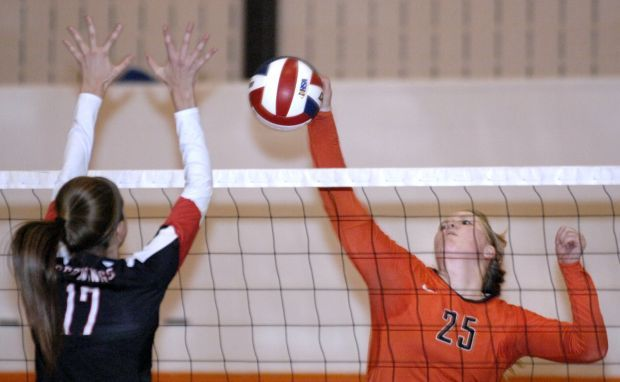 Benet Academy at Normal Community IHSA Normal Community Volleyball Super-Sectional 2