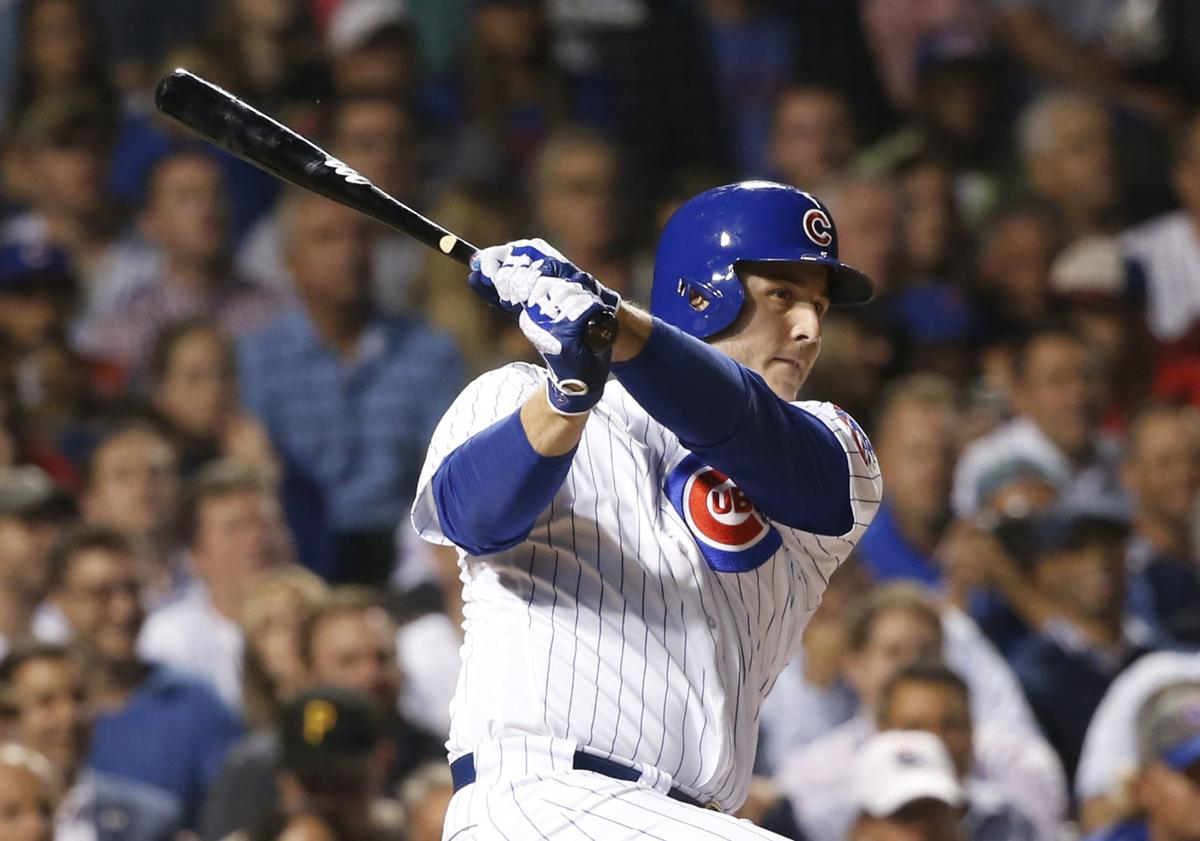 Cubs Rizzo Returns Baseball