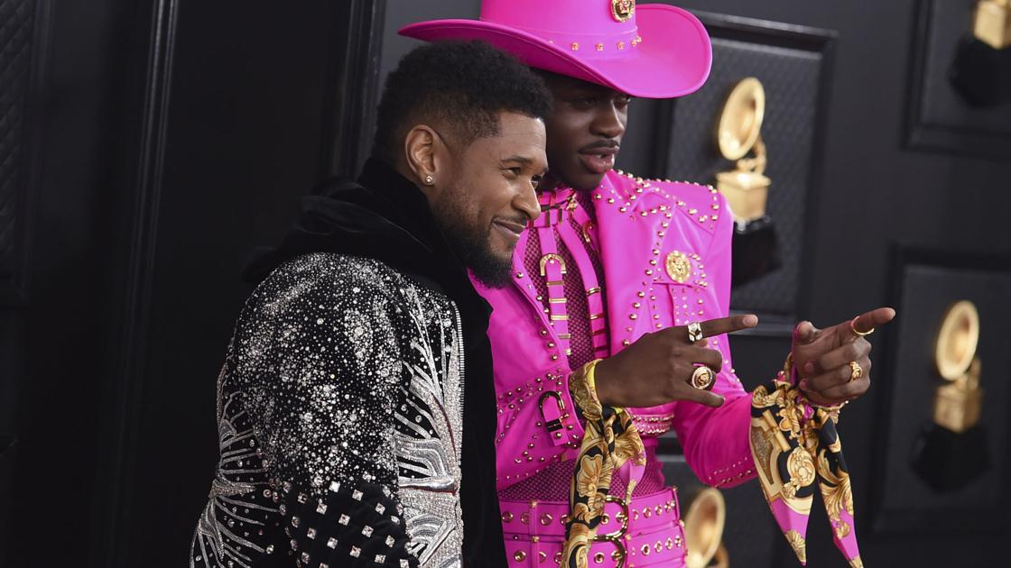 Photos from the red carpet at the 62nd annual Grammy Awards