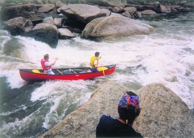 Whitewater adventure