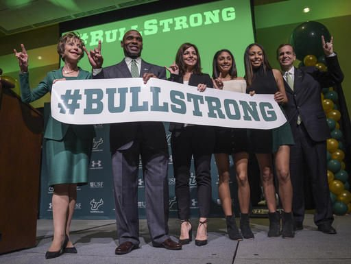 Strong envisions South Florida rising among nation's elite