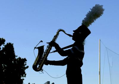 Last encore: Marching band season draws to a close in state competition