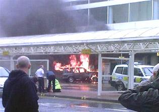 U.K. crash scene linked to London bombs