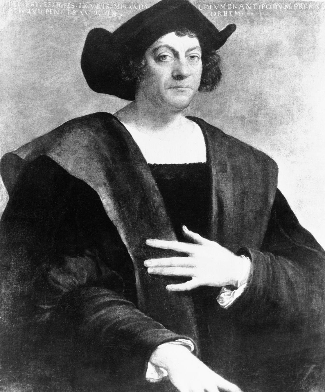 1498: Christopher Columbus