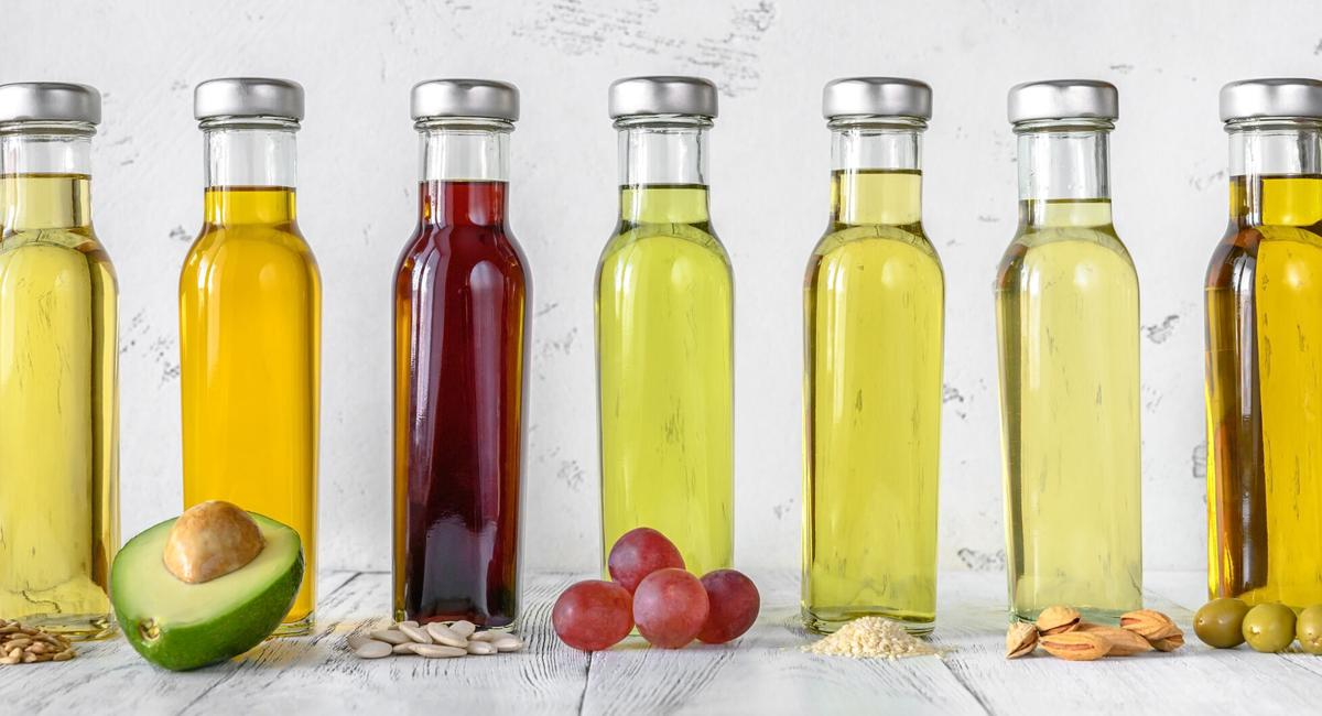 Various cooking oils