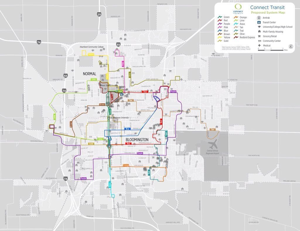 Connect Transit approves new route map schedule Government and