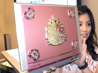 NEC releases pink Hello Kitty laptop