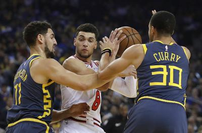 Bulls Warriors Basketball