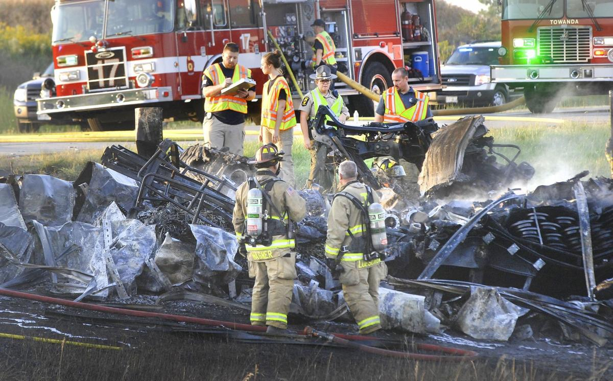 Witness to I-39 triple fatal: 'It was like something out of a war