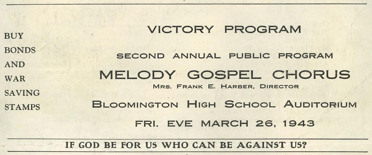Melody Gospel Choir Victory Program