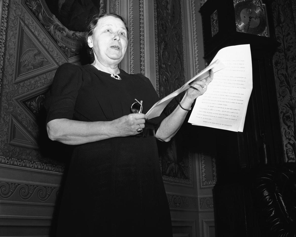 1932: Hattie W. Caraway