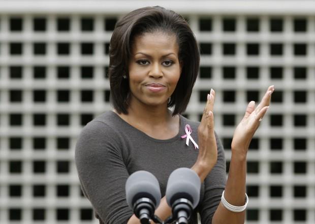 Michelle Obama breast cancer 102309