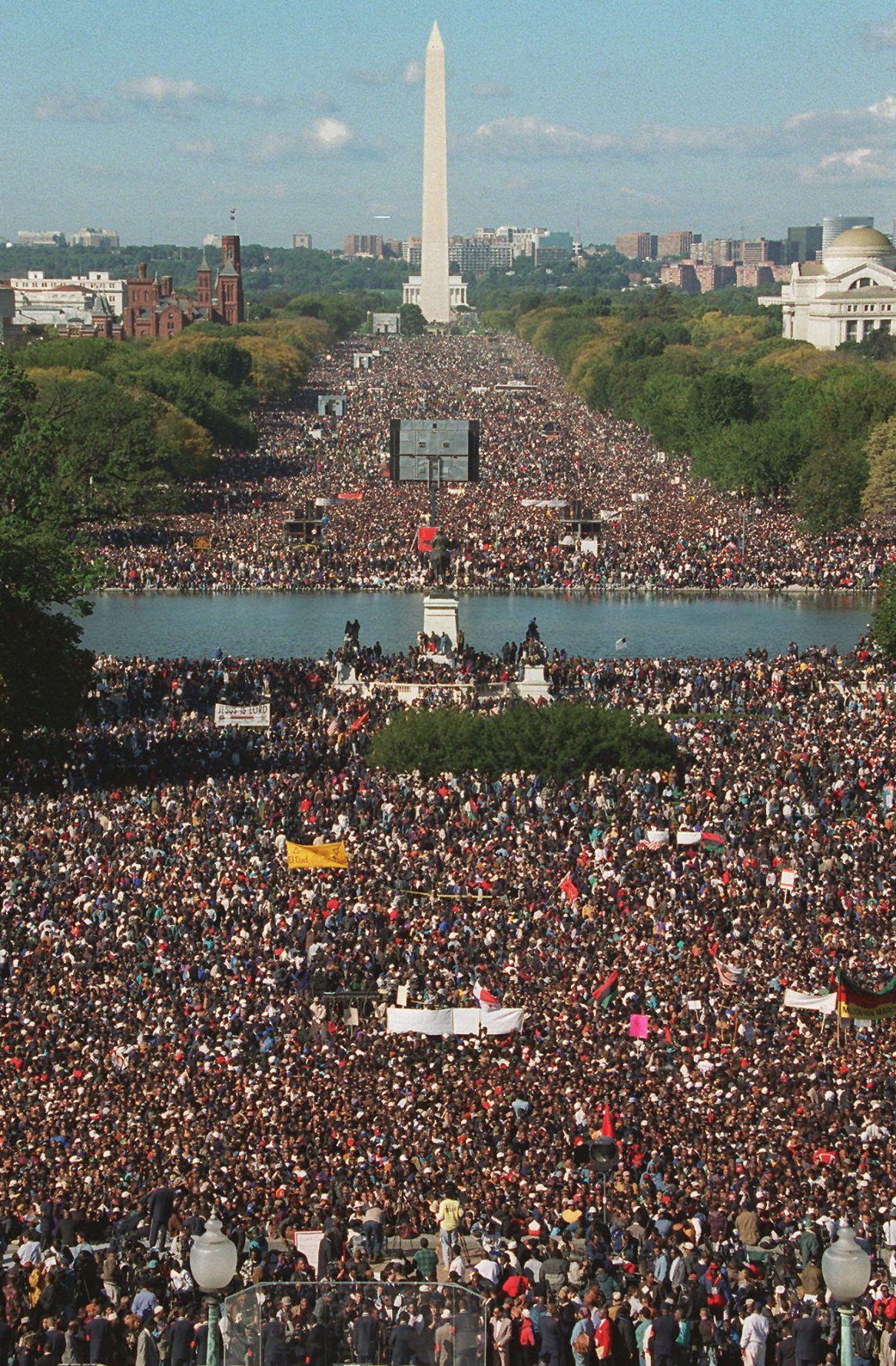 "1995: ""Million Man March"""