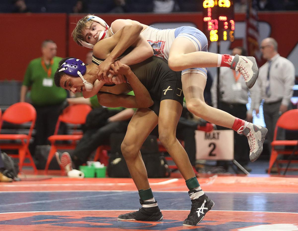 Chad Bellis in state title match